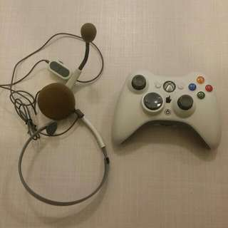 Xbox 360 原廠 手掣 白色