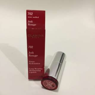 CLARINS BRAND NEW Joli Rouge 702 ROSE SORBET