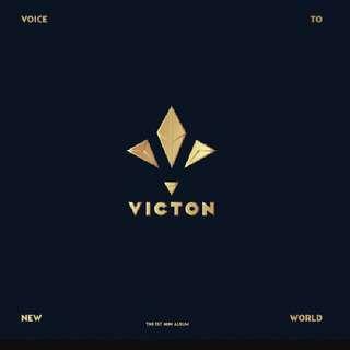 Victon 1st Mini Album Voice To New World Victon 2nd Mini Album Ready