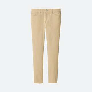 UNIQLO Color Skinny Fit Ankle Jeans