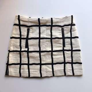 Top shop mini skirt size 8
