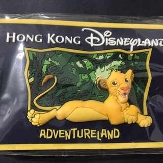 香港迪士尼限定版立體吊牌