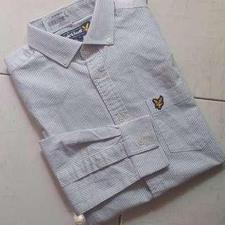 LYLE AND SCOTT - S Oxford Stripe Shirt
