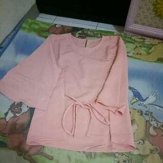Pink Bigsize Blouse