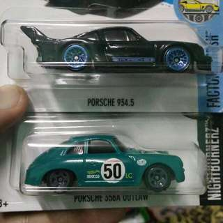 Hot Wheels Porsche Set