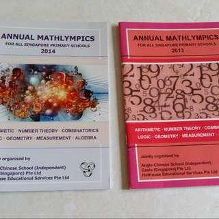Mathlympics Books