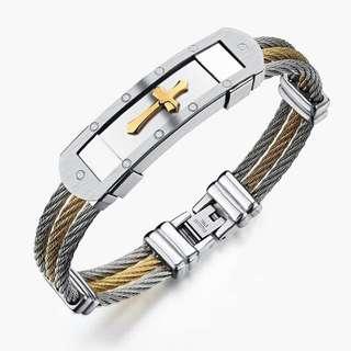 cross christian bracelet