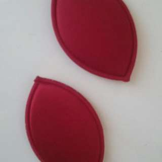 Ladies Red Sponge-like Push Up Bra Fillers