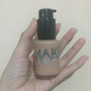 Make Over Liquid Foundation 02 Pink Shade