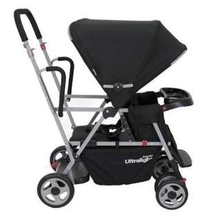Joovy Ultralight Caboose Stand On Twin Stroller