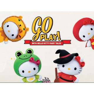 McDonald's Hello Kitty Fairytales Collection