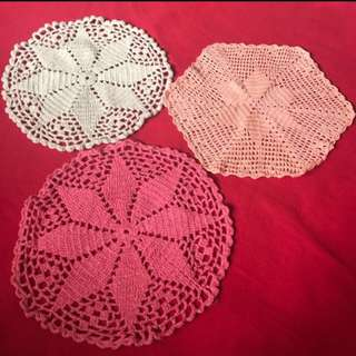 Crocheted Small Mats