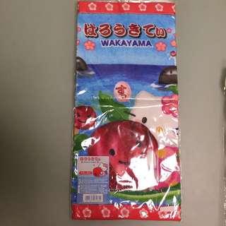 Hello Kitty 日本製毛巾(和歌山限定版)