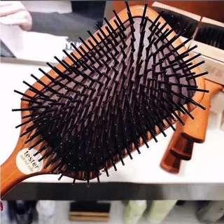 AVEDA木質髮梳按摩頭皮毛囊梳-現貨