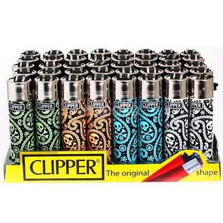 New Clipper Lighters (1 Set Of 4)