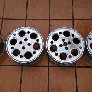 Original Imported Alfa Rims