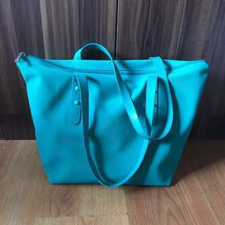 Teal Shoulder Bag