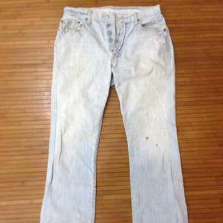 Levi's Ripped Jeans 501
