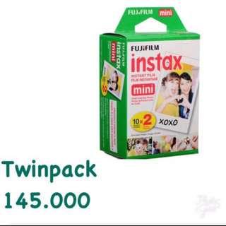 Refill Instax Twinpack Mini