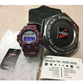 🚚 全新正品G-SHOCK CRAZY COLOR系列 DW-6900SB-4DR(鐵紅色)#夏日九九出清