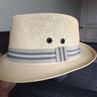 CHARLIE Fedora Souvenir Hat from Cabo San Lucas, Mexico