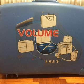 Large Delsey Luggage