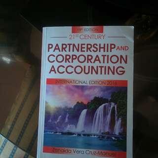 Partneship and corporation accounting by Zanaida Vera Cruz-Manuel