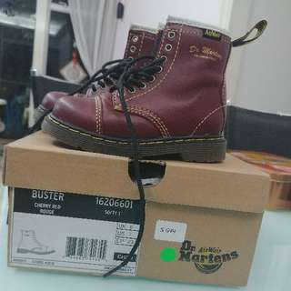 ❤99% New Dr. Martin Kid Boot With Box