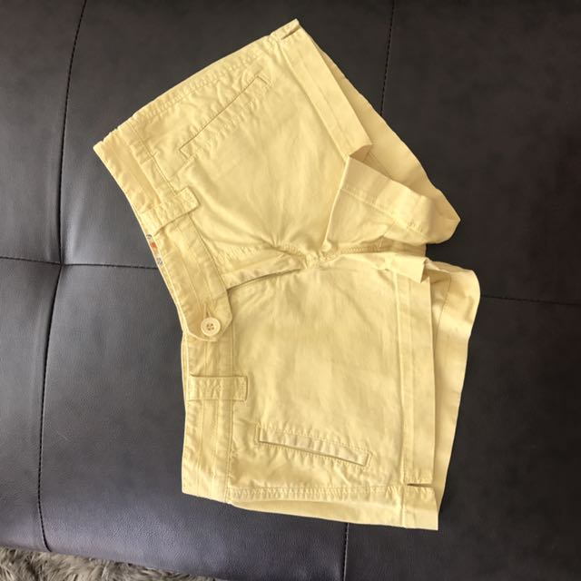 2 for $5 summer shorts blue and yellow size small