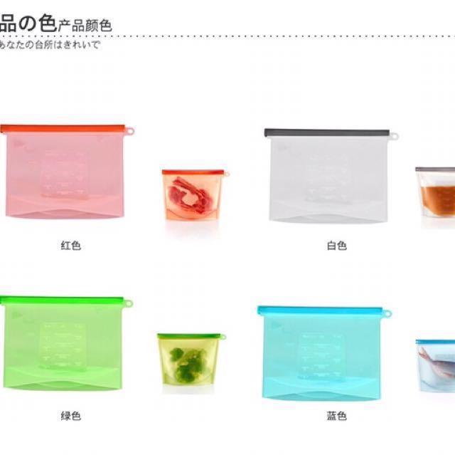 日本白金食品級/無毒真空密封保鮮袋/高耐熱/4色