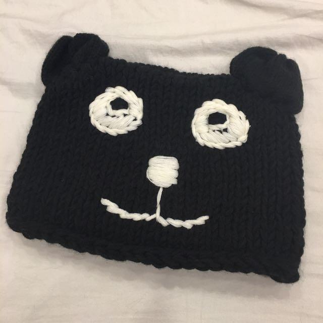 保暖又不失可愛的毛帽💓