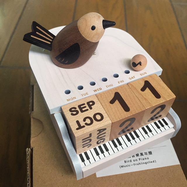 鋼琴鳥音樂萬年曆
