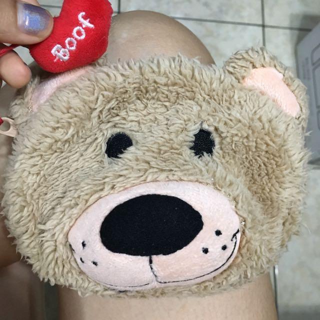 梨花熊化妝包 相機包 隨身包