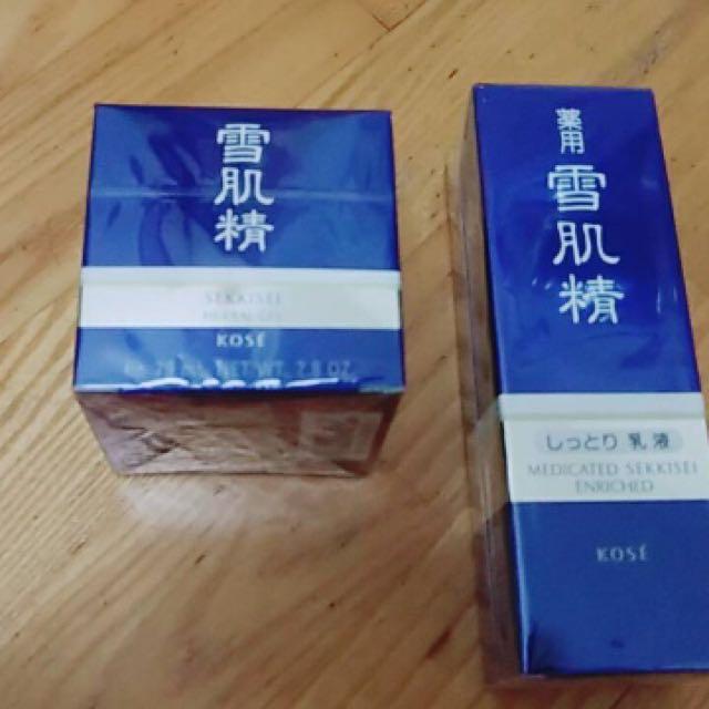 日本帶回 雪肌精 保濕乳液 全能活膚精華