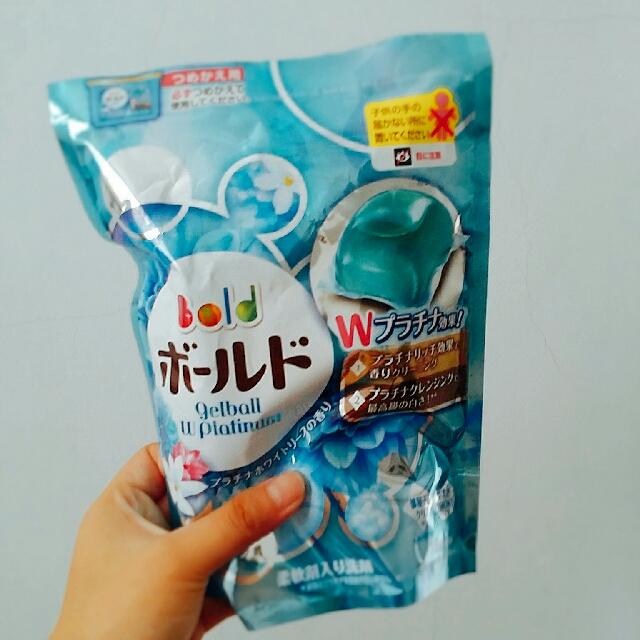 全新 日本 P&G寶僑 洗衣膠球 洗衣球