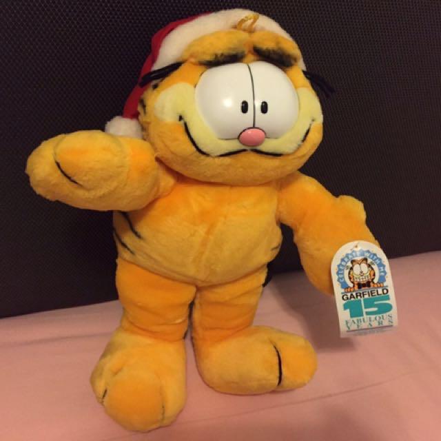 加菲貓 Garfield 毛公仔