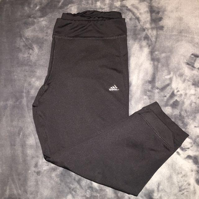 Adidas 3 quarter compression tights
