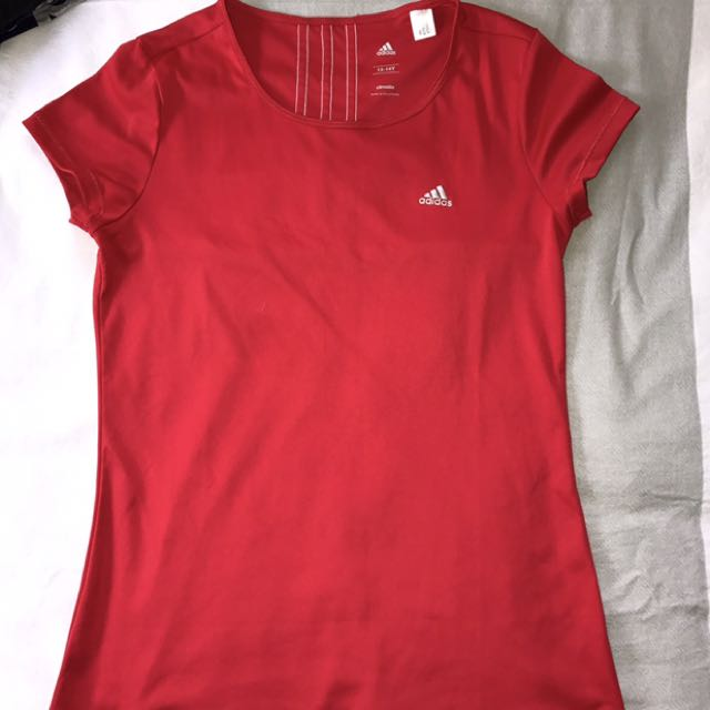 Adidas Climate red top