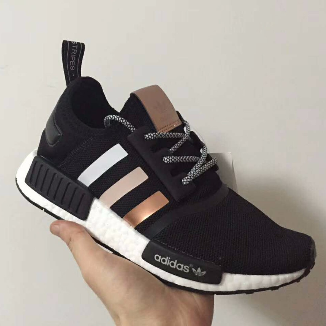 new styles 601f9 21834 Adidas NMD gradient rose gold, Men s Fashion, Footwear on Carousell
