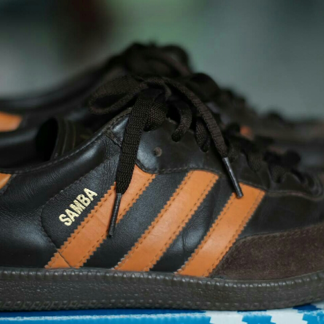 adidas samba classic leather orange original 1aeed0a0f
