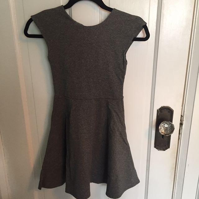 Aritzia Grey Dress