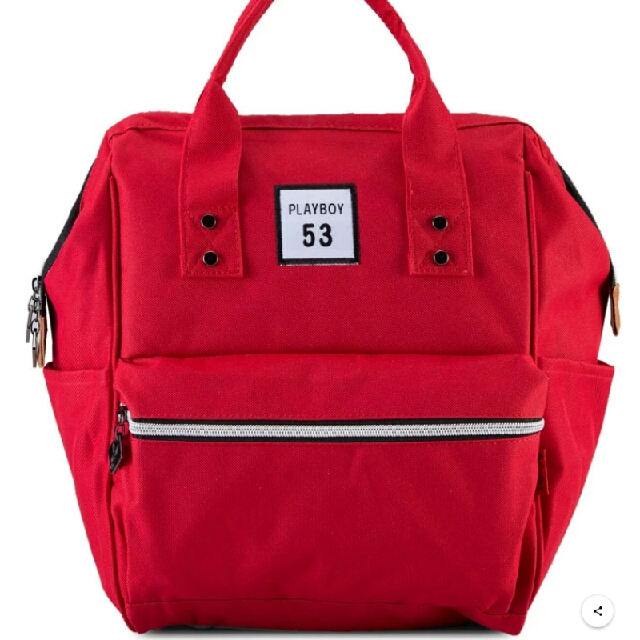 Authentic Playboy Red Backpack