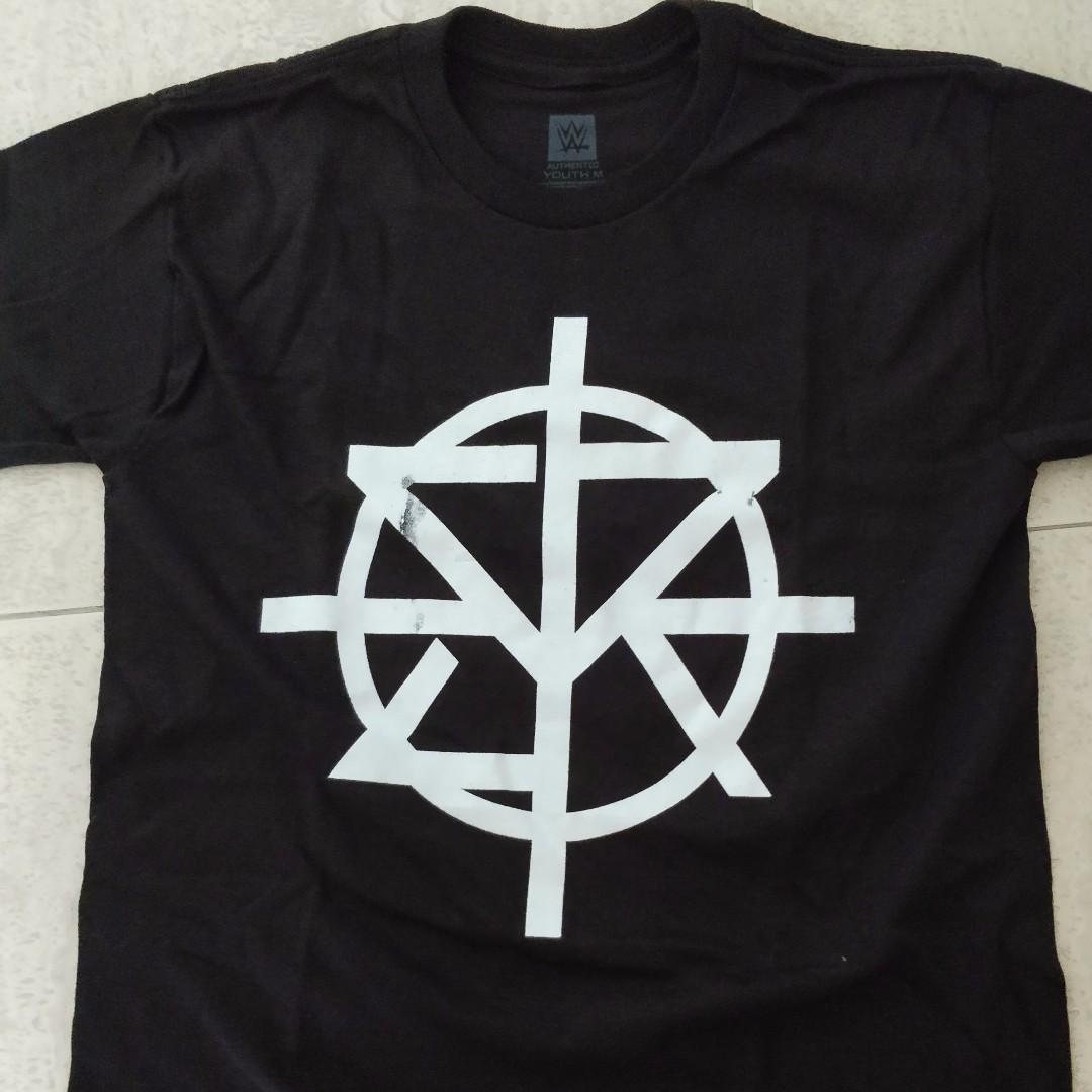 b676262b Authentic WWE T-Shirt - Seth Rollins 'Redesign Rebuild Reclaim ...