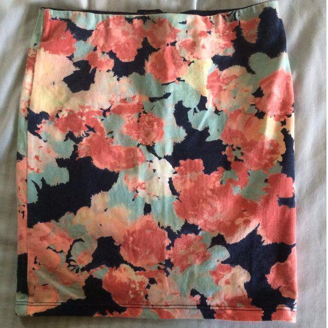 Bershka Pencil skirt