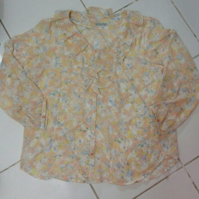 Blouse Lengan Panjang / Baju Muslim