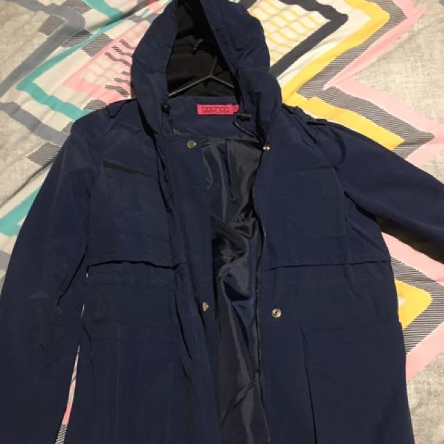 Boohoo raincoat jacket