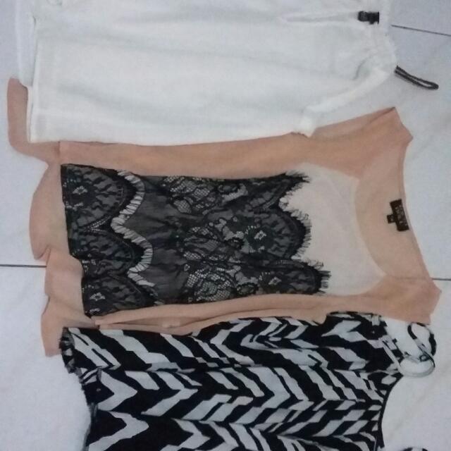 branded string blouses- bundle