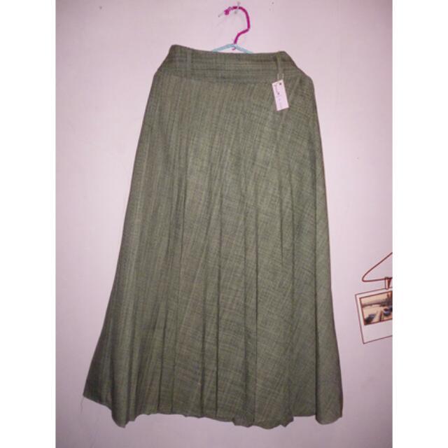 Brown Skirt/Rok Coklat