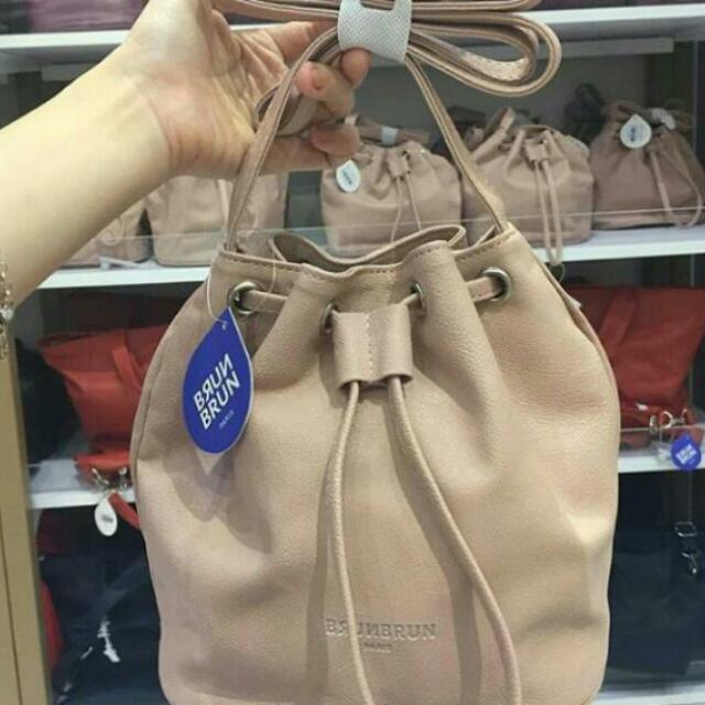 Brunbrun Paris Bucket Bag