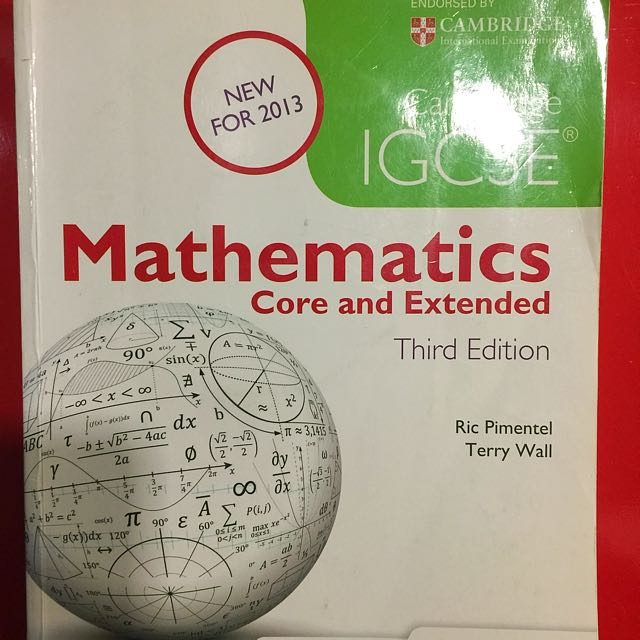 Cambridge igcse mathematics core and extended 3rd edition ric photo photo photo photo fandeluxe Image collections